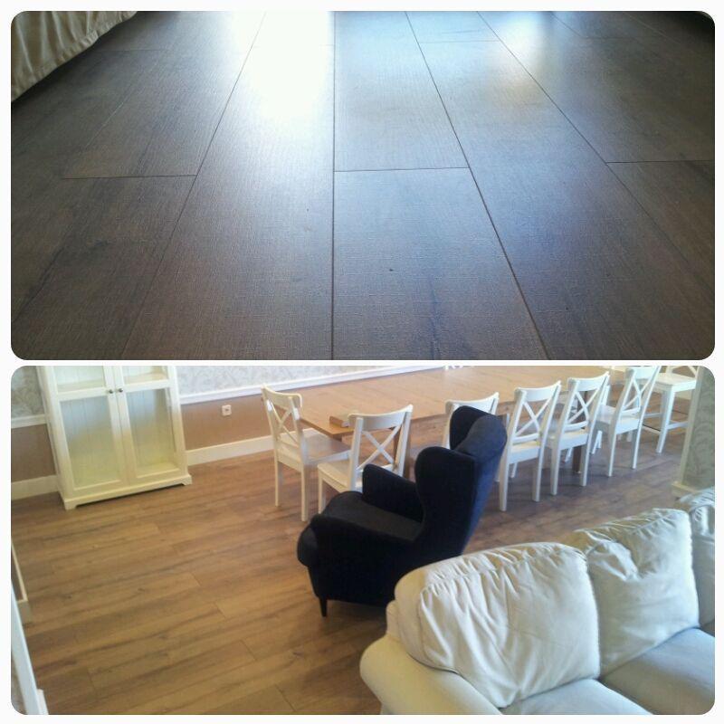 Más imágenes del suelo laminado instalado por Viva Parquet
