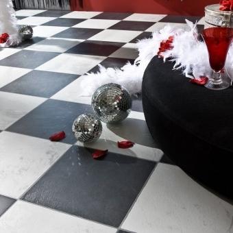 Otra imagen de Faus Industry Tiles Chess Black S171992_2