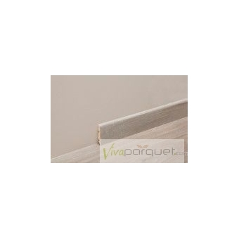 Rodapié Laminado BerryAlloc 6 cms Colores Producto Accesorio de BerryAlloc Titanium Roble Gris Plateado 3110-3754