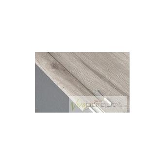 Perfil Transición BerryAlloc Producto Accesorio de BerryAlloc Titanium Roble Gris Plateado 3110-3754