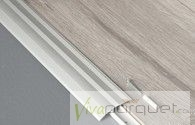 Perfil Adaptador BerryAlloc Aluminio Plata