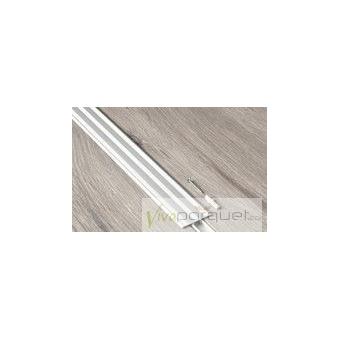 Perfil Dilatación BerryAlloc Aluminio Plata Producto Accesorio de BerryAlloc Titanium Roble Gris Plateado 3110-3754
