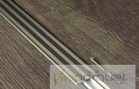 Perfil Dilatación BerryAlloc Aluminio Champaña
