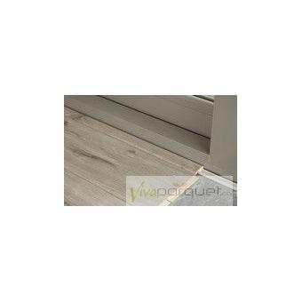 Perfil de Terminación BerryAlloc Producto Accesorio de Tarima BerryAlloc Riviera Roble Blanco Lis 3040-3820