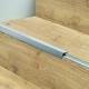 Perfil Escalera BerryAlloc Aluminio de Solape