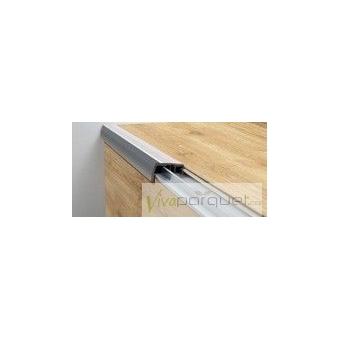 Otra imagen de Perfil Escalera BerryAlloc Aluminio de Solape