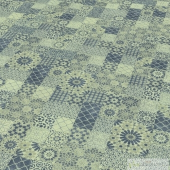 SUELO LAMINADO MICROBISEL Producto Alfama Tile 6AQ - Finfloor Evolve