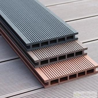 Zócalo Composite Encapsulado Exterior WPC Producto Accesorio de Tarima Tecnológica Composite Alveolar Teka