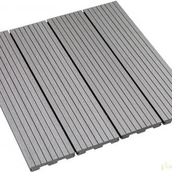 Tarima Tecnológica Composite Maciza Gris Silver Ranurada es Producto Relacionado con tarima-tecnologica-maciza