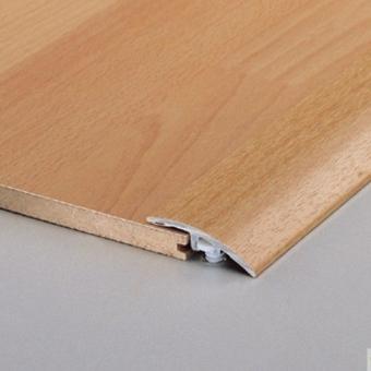 Perfil Transicion Aluminio Laminado para Parquet Producto Accesorio de Essenz Natural 6176 Roble Claro Limpio 1 Lama