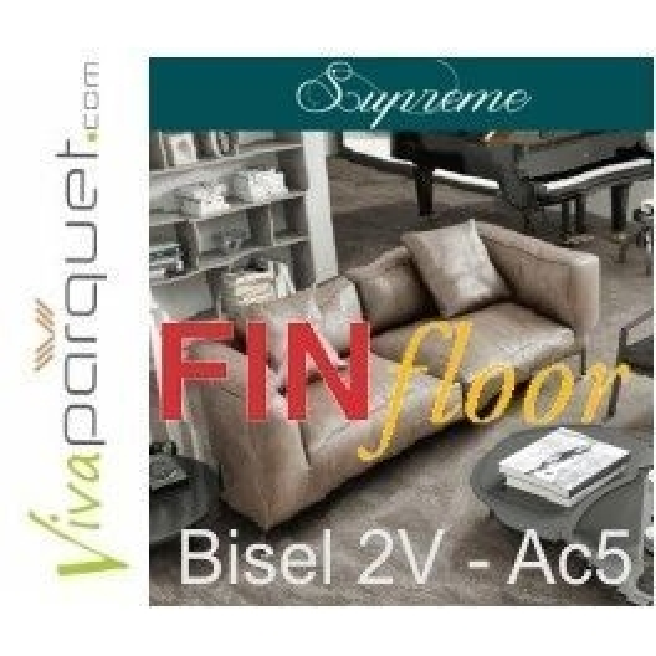 Finfloor Supreme Bisel V2 | Tarima Finfloor Supreme Biselado Lateral 2V