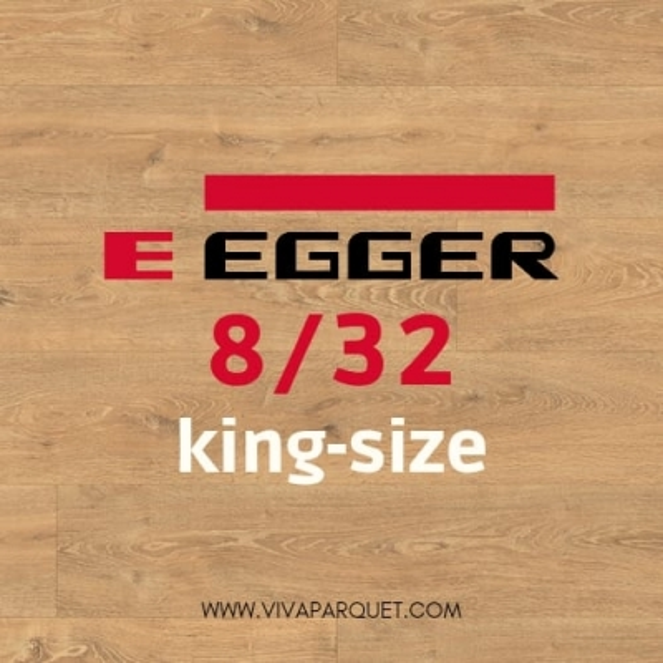 Parquet Egger Kingsize 8/32 Precio € 12,37 m2