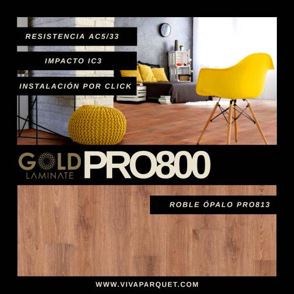 Gold Laminate PRO 800 AC5 | Suelos Laminados Gold Laminate Pro 800