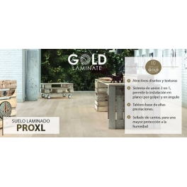 Gold Laminate PRO XL| Tarima Gran Formato Gold Laminate Pro XL