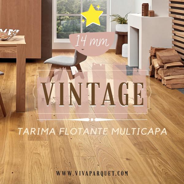 Tarima Flotante Vintage
