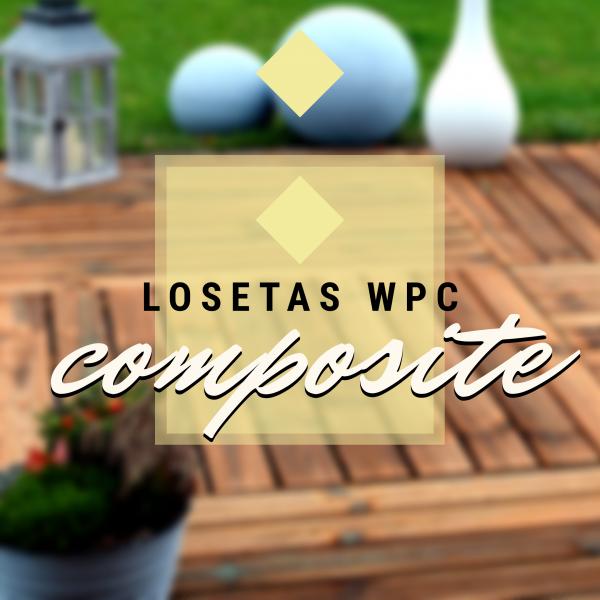 Losetas Composite WPC