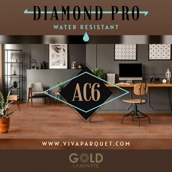 Gold Laminate Diamond PRO AC6