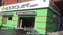 Nueva tienda Viva Parquet en Málaga capital