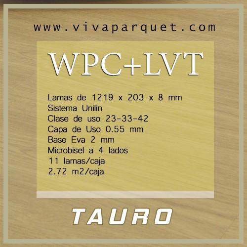 TAURO WPC + LVT FLOORS