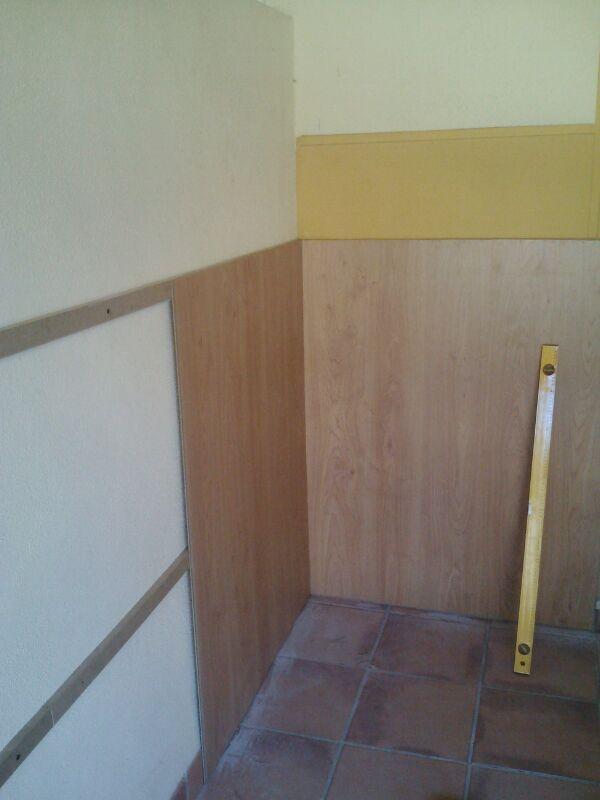 Parquet ac5 en suelo y pared viva parquet - Montaje suelo laminado ...