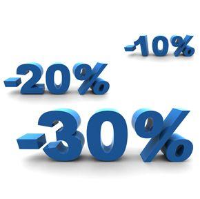 Descuentos porcentajes en tarimas flotantes, bajada de precios en Viva Parquet